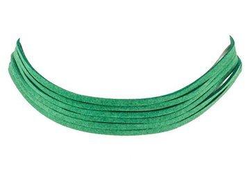 Choker na szyję zielony