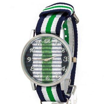 Zegarek kolor zielony I